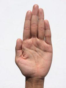 Prázdna dlaň